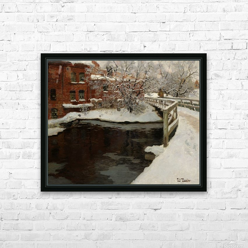 Treschows bro HD Sublimation Metal print with Decorating Float Frame (BOX)