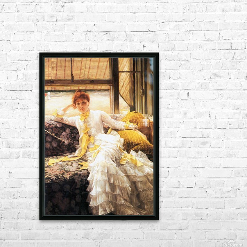 July by Tissot HD Sublimation Metal print with Decorating Float Frame (BOX)