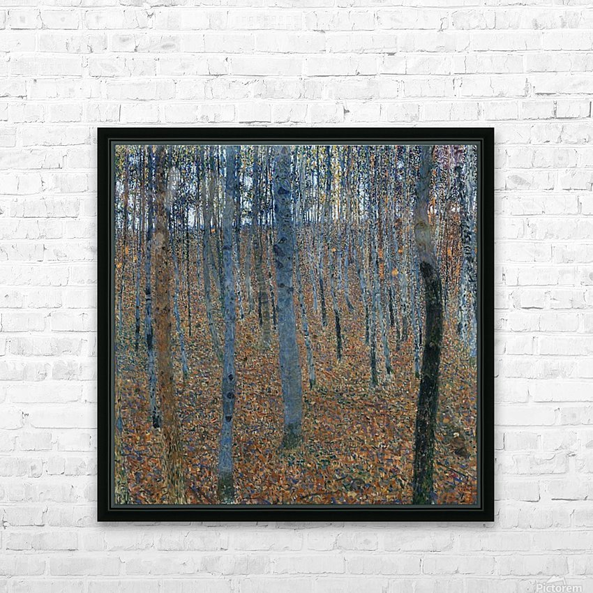 Klimt - Beech Grove I HD Sublimation Metal print with Decorating Float Frame (BOX)