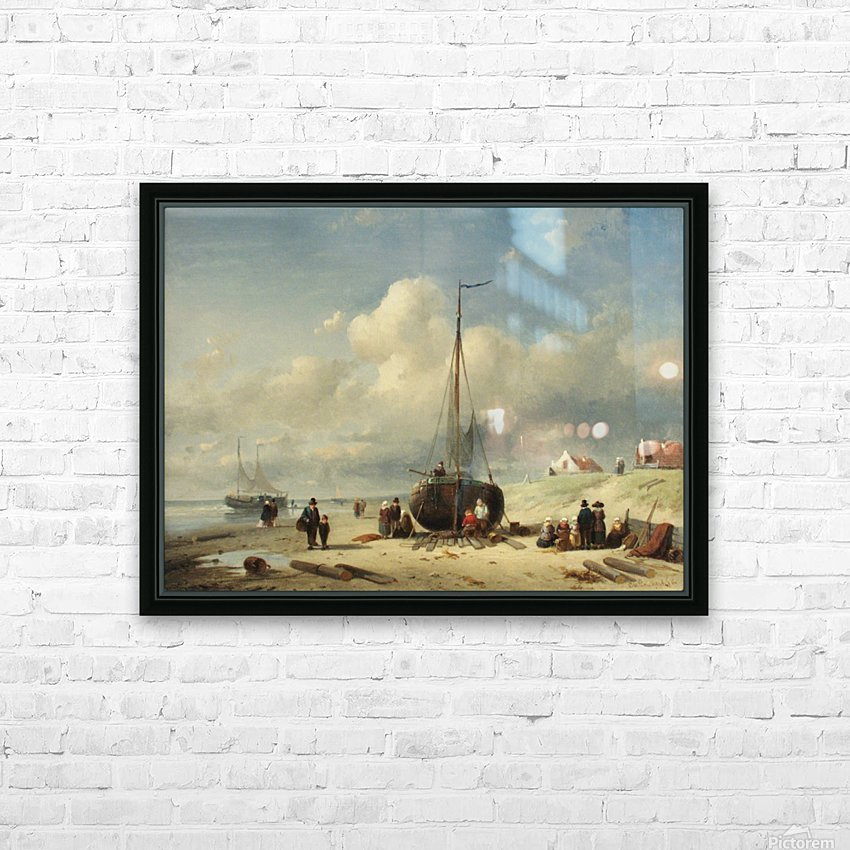 Repairing the Boat HD Sublimation Metal print with Decorating Float Frame (BOX)