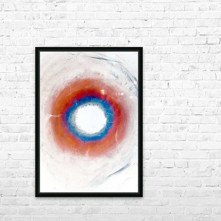 Glimpse of Black Hole No.4 HD Sublimation Metal print with Decorating Float Frame (BOX)