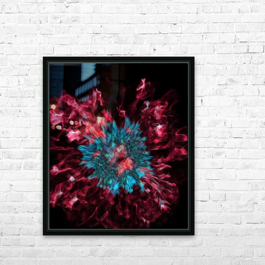 Encounter With A Moment HD Sublimation Metal print with Decorating Float Frame (BOX)