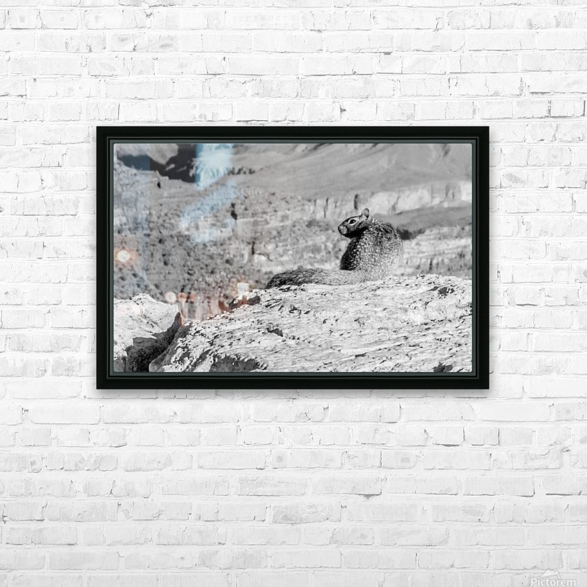 Grand Canyon South Rim HD Sublimation Metal print with Decorating Float Frame (BOX)
