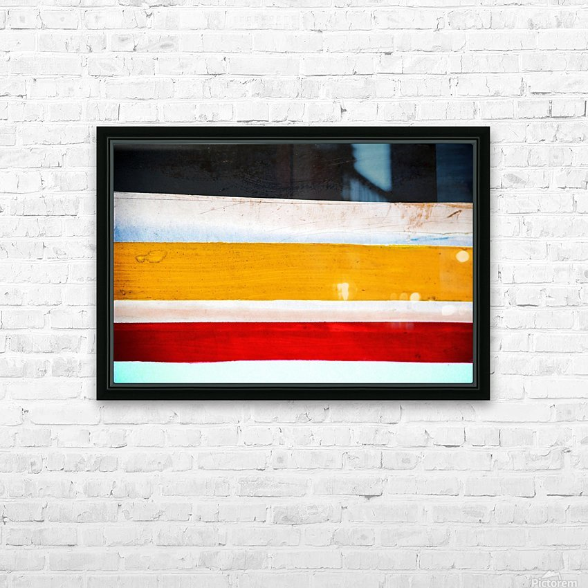 Boat LXXVI HD Sublimation Metal print with Decorating Float Frame (BOX)