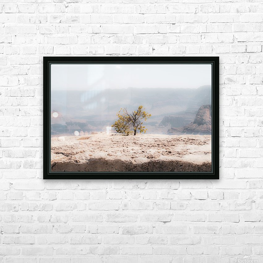 Desert Shrub Grand Canyon 2 HD Sublimation Metal print with Decorating Float Frame (BOX)