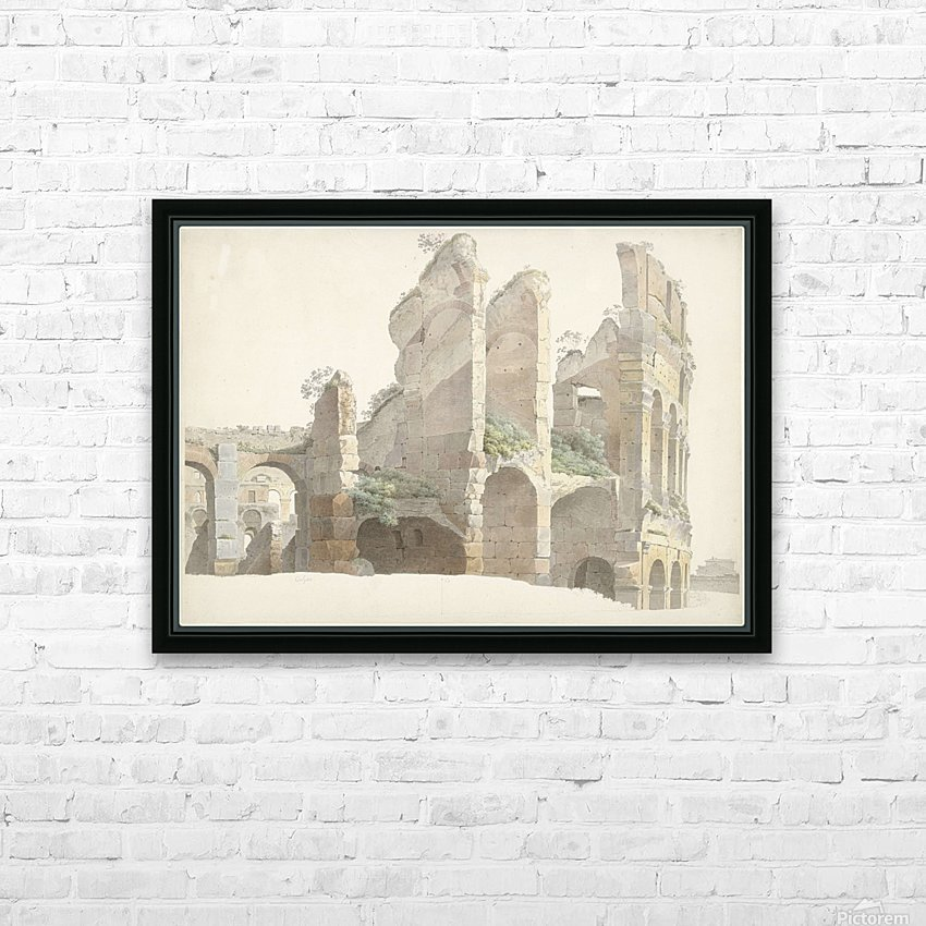 Het Colosseum te Rome HD Sublimation Metal print with Decorating Float Frame (BOX)