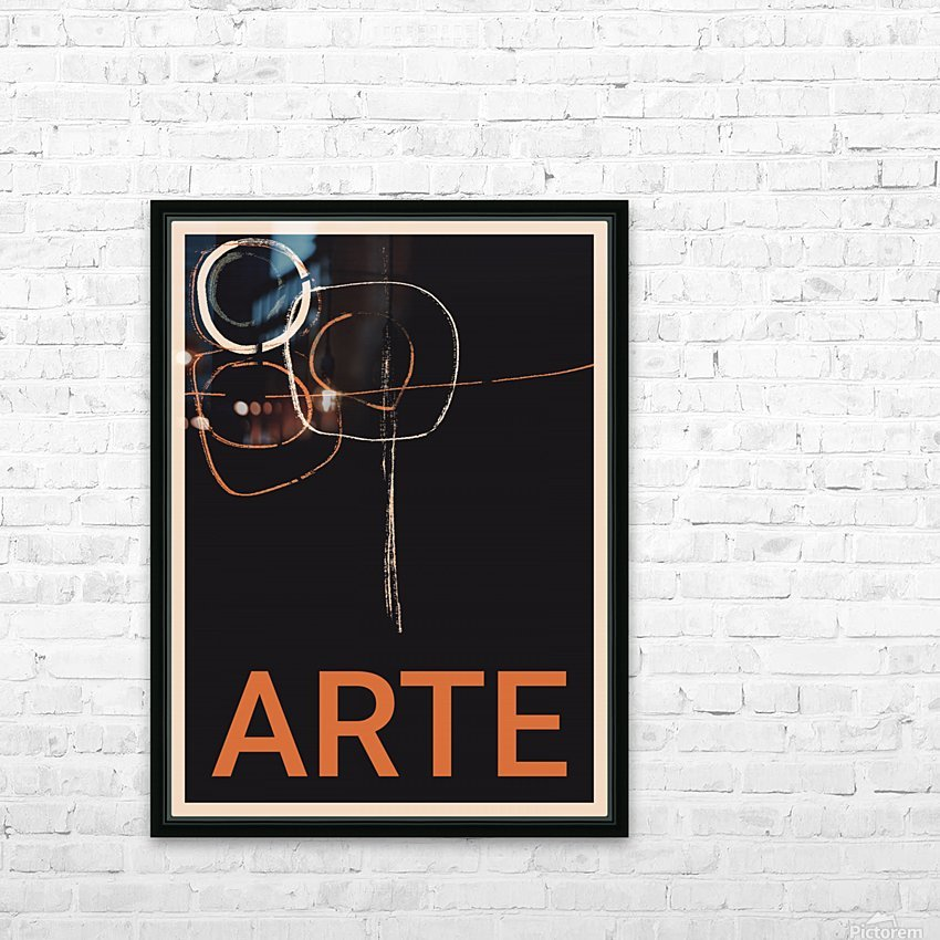 ARTE -1  HD Sublimation Metal print with Decorating Float Frame (BOX)