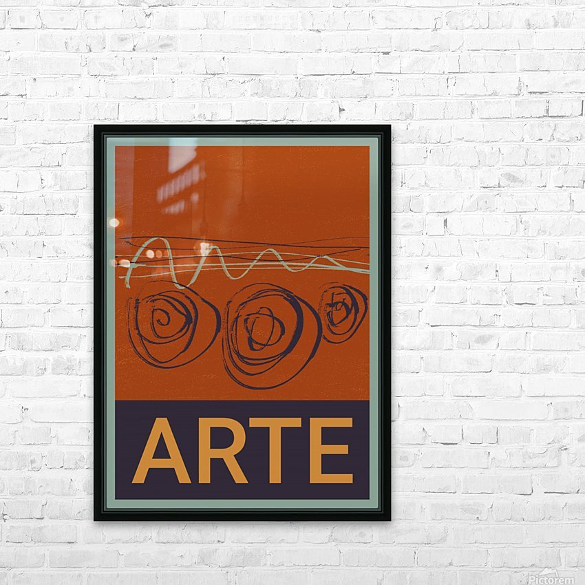 ARTE -7  HD Sublimation Metal print with Decorating Float Frame (BOX)