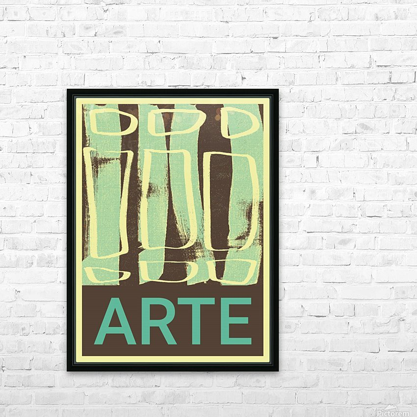 ARTE -13  HD Sublimation Metal print with Decorating Float Frame (BOX)