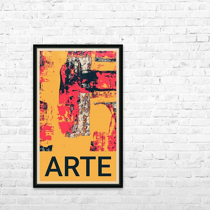 ARTE -17  HD Sublimation Metal print with Decorating Float Frame (BOX)