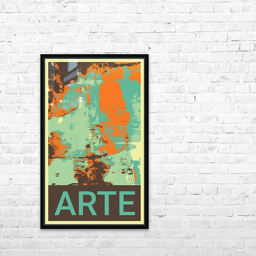 ARTE -22  HD Sublimation Metal print with Decorating Float Frame (BOX)