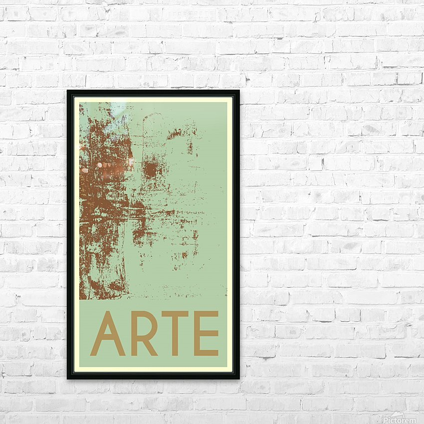 ARTE -25  HD Sublimation Metal print with Decorating Float Frame (BOX)
