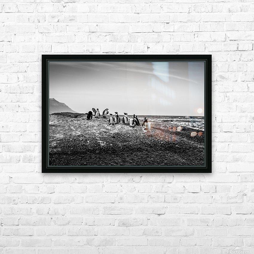Black Tie Bonanza HD Sublimation Metal print with Decorating Float Frame (BOX)