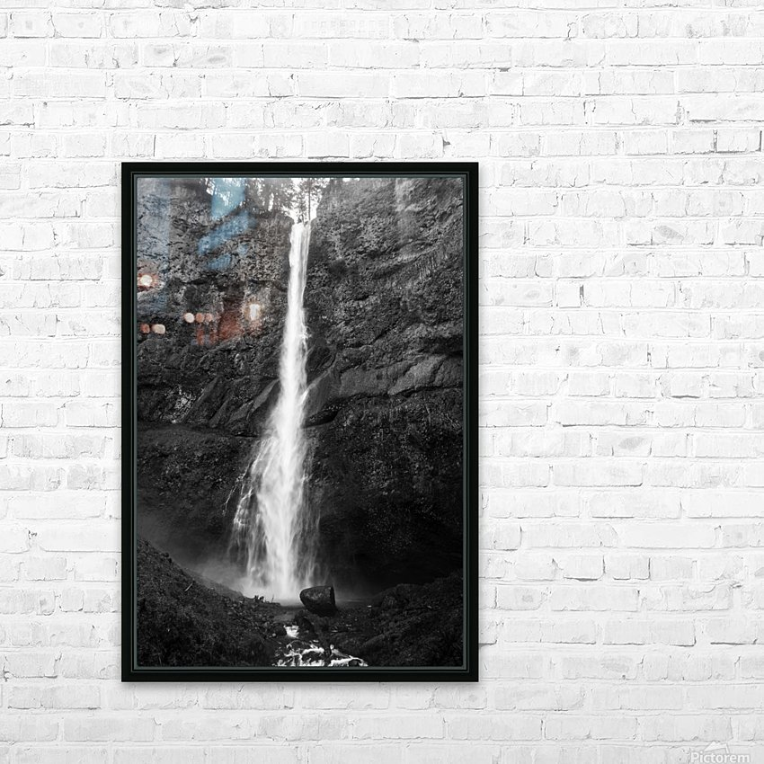 Multnomah 2 HD Sublimation Metal print with Decorating Float Frame (BOX)