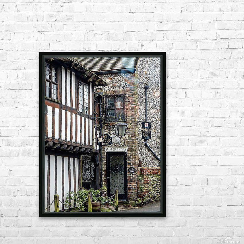 St Marys House Bramber HD Sublimation Metal print with Decorating Float Frame (BOX)