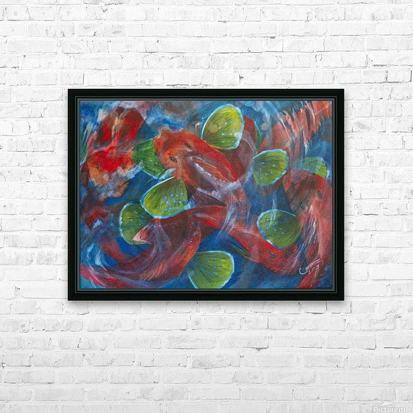 Sea Robins HD Sublimation Metal print with Decorating Float Frame (BOX)