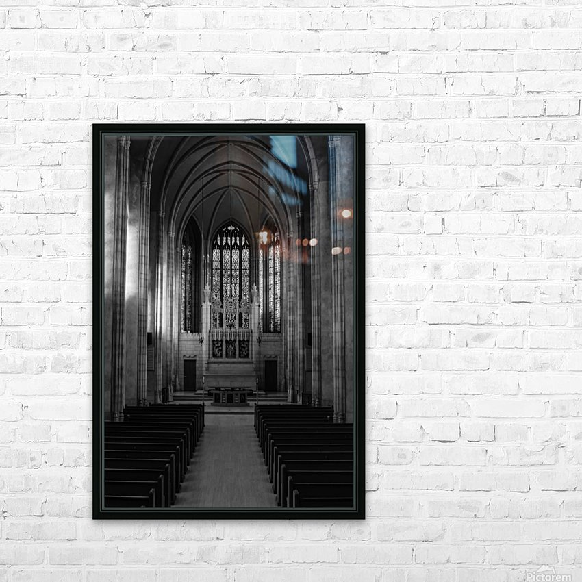 Trinity College Chapel HD Sublimation Metal print with Decorating Float Frame (BOX)