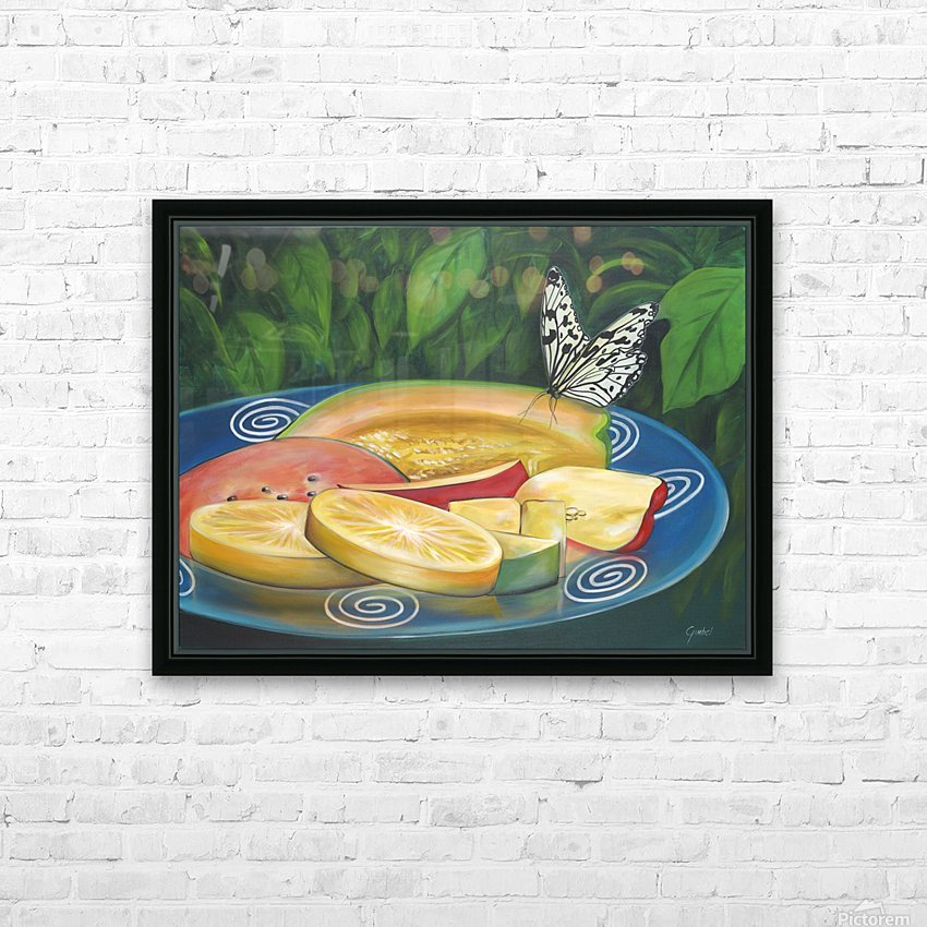 feast HD Sublimation Metal print with Decorating Float Frame (BOX)