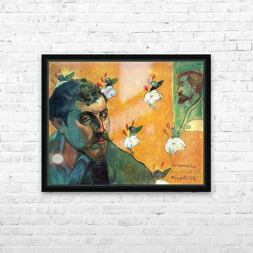 Les Miserables by Gauguin HD Sublimation Metal print with Decorating Float Frame (BOX)