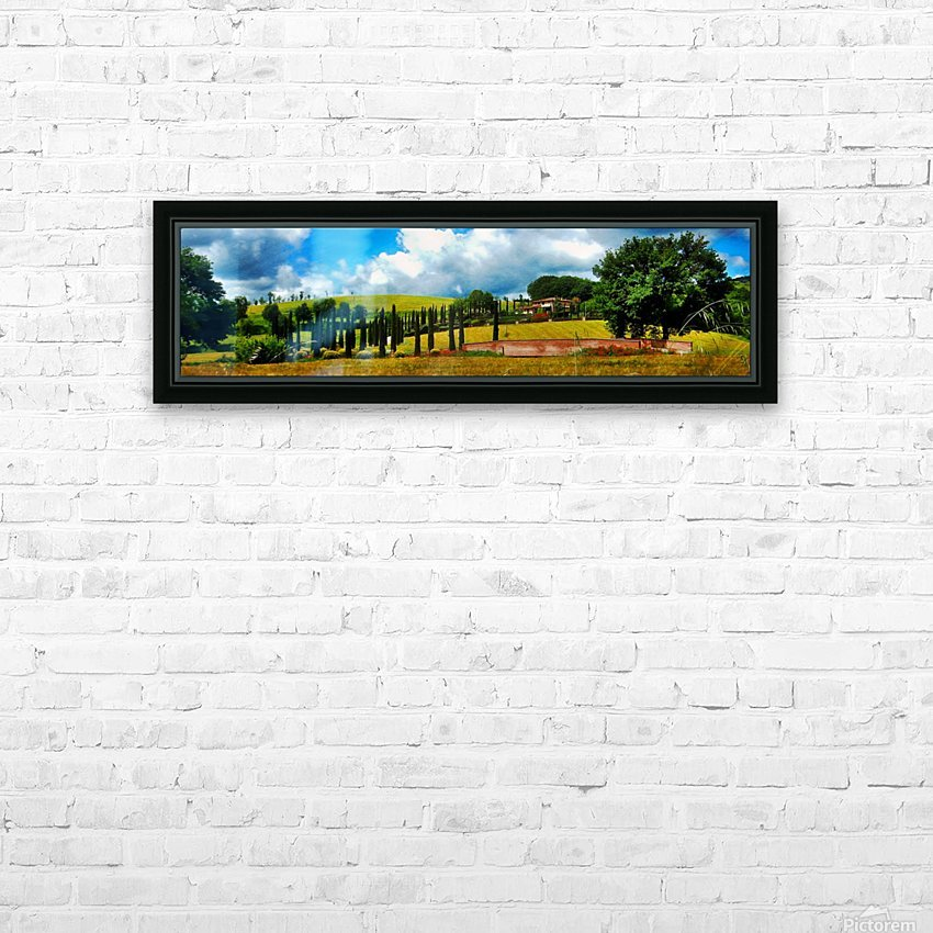 Cypress View Umbria HD Sublimation Metal print with Decorating Float Frame (BOX)
