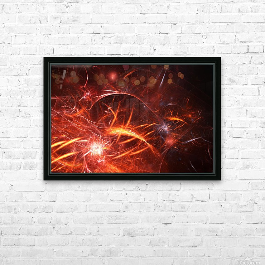 The Forge HD Sublimation Metal print with Decorating Float Frame (BOX)