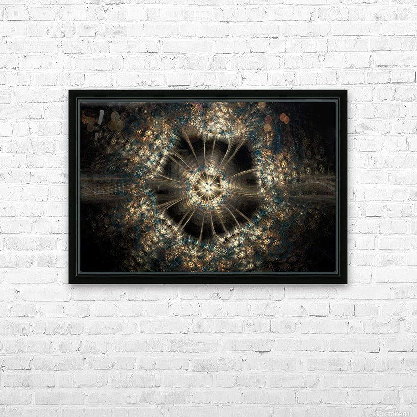 Blink HD Sublimation Metal print with Decorating Float Frame (BOX)