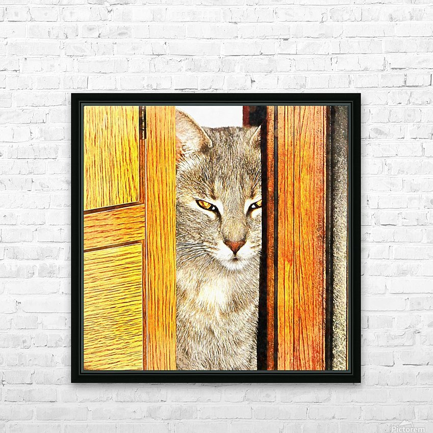 Looking From The Other Side HD Sublimation Metal print with Decorating Float Frame (BOX)