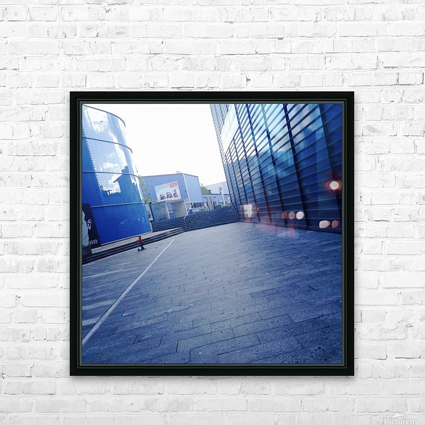 landspace HD Sublimation Metal print with Decorating Float Frame (BOX)