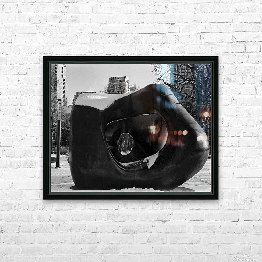 Two Large Forms at Grange Park 2 HD Sublimation Metal print with Decorating Float Frame (BOX)