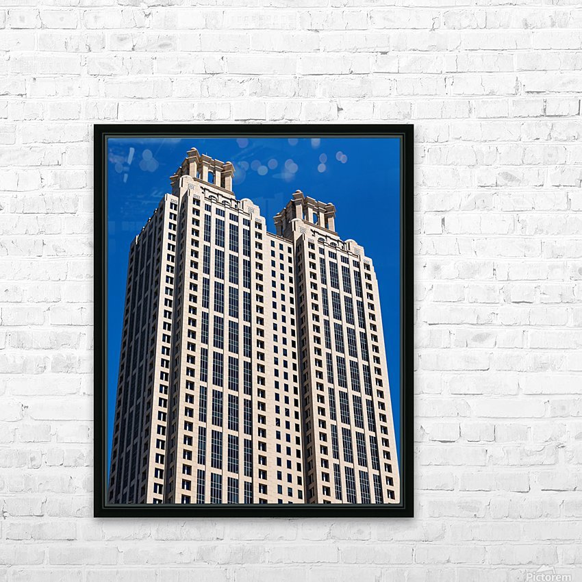 191 Peachtree Tower   Atlanta GA 6969 HD Sublimation Metal print with Decorating Float Frame (BOX)