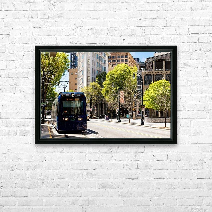 Atlanta Streetcar   Atlanta GA 6944 HD Sublimation Metal print with Decorating Float Frame (BOX)