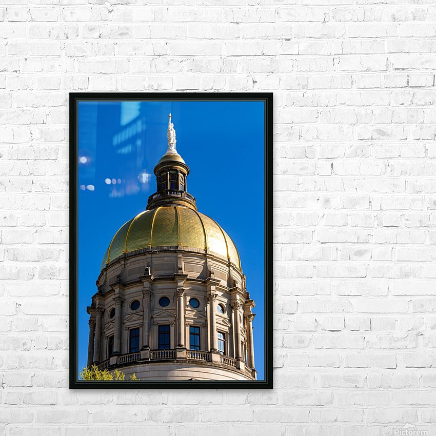 Georgia State Capitol Building   Atlanta GA 7190 HD Sublimation Metal print with Decorating Float Frame (BOX)