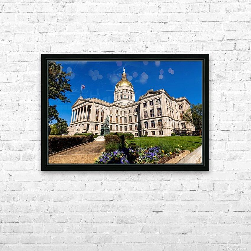Georgia State Capitol Building   Atlanta GA 7215 HD Sublimation Metal print with Decorating Float Frame (BOX)