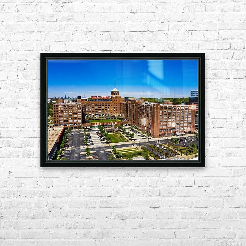 Ponce City Market   Atlanta GA 0622 HD Sublimation Metal print with Decorating Float Frame (BOX)