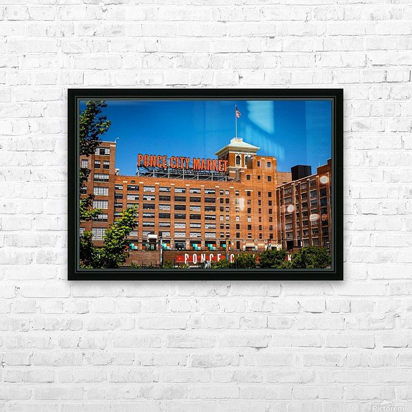 Ponce City Market   Atlanta GA 7045 HD Sublimation Metal print with Decorating Float Frame (BOX)