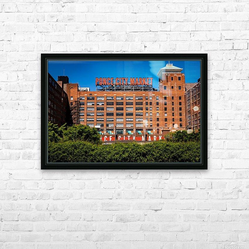 Ponce City Market   Atlanta GA 7063 HD Sublimation Metal print with Decorating Float Frame (BOX)