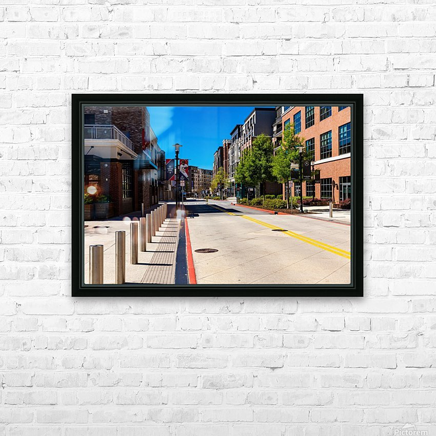 Truist Park   The Battery Atlanta GA 6769 HD Sublimation Metal print with Decorating Float Frame (BOX)
