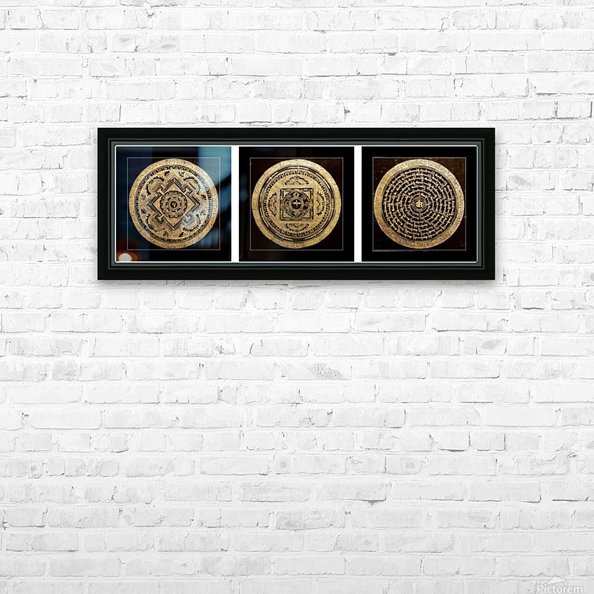 Thangka Collector's Edition HD Sublimation Metal print with Decorating Float Frame (BOX)