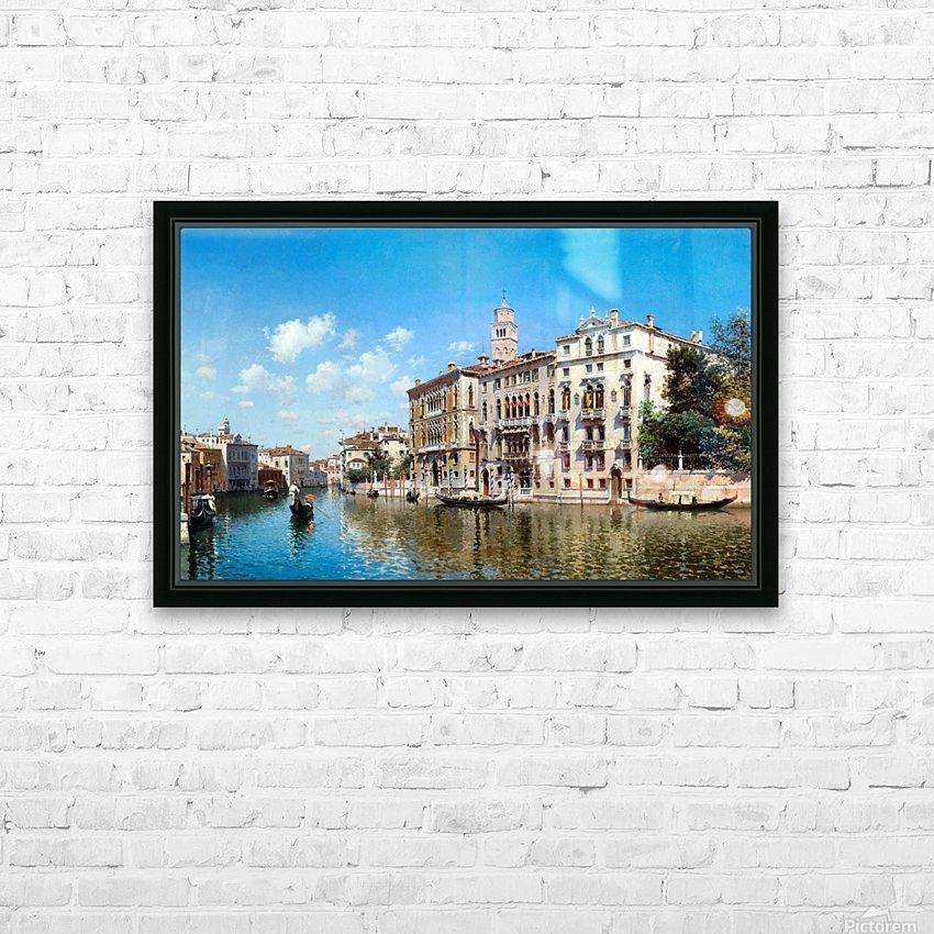 Palazo Cavalli-Franchetti, Venezia HD Sublimation Metal print with Decorating Float Frame (BOX)