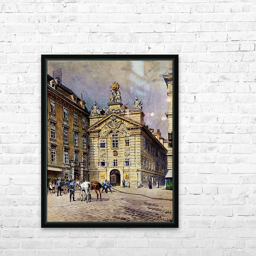 The Bridge of Sighs, Venice HD Sublimation Metal print with Decorating Float Frame (BOX)