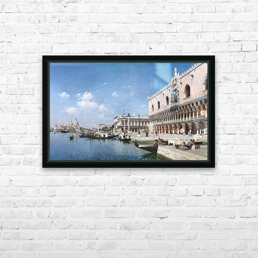 Grand Canal, Venice HD Sublimation Metal print with Decorating Float Frame (BOX)