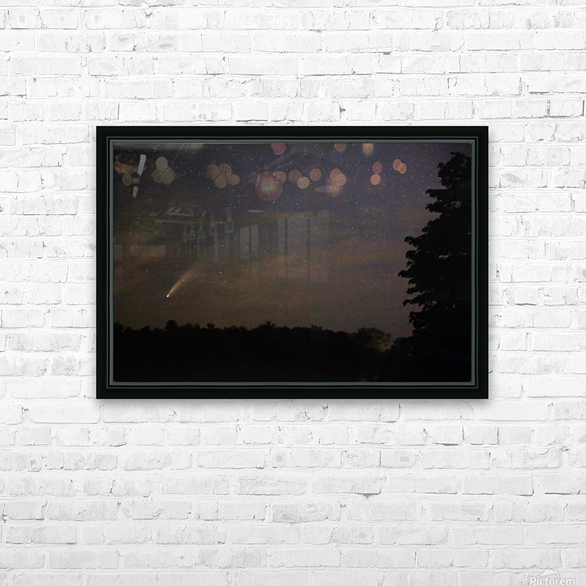 Neowise Comet 7.14.20 HD Sublimation Metal print with Decorating Float Frame (BOX)
