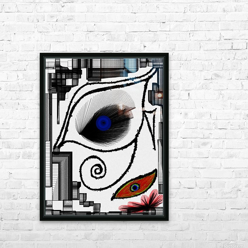 The Eye HD Sublimation Metal print with Decorating Float Frame (BOX)