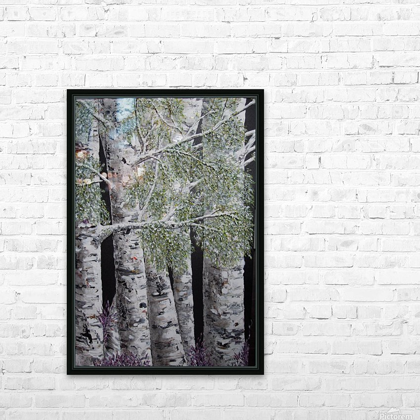 Snowdust in Spring HD Sublimation Metal print with Decorating Float Frame (BOX)