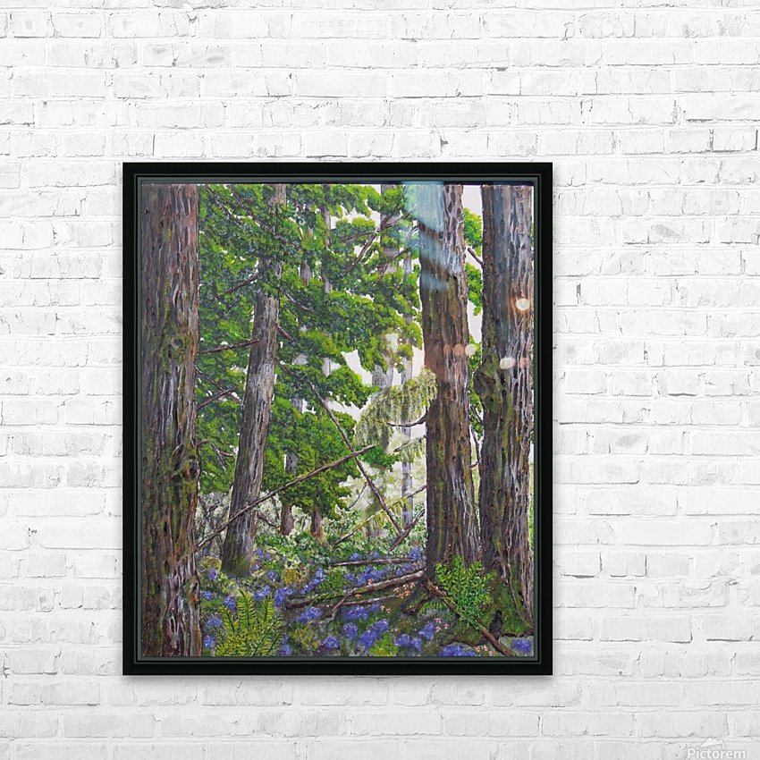 Fairies Forest HD Sublimation Metal print with Decorating Float Frame (BOX)