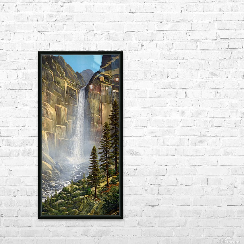 Great Falls HD Sublimation Metal print with Decorating Float Frame (BOX)