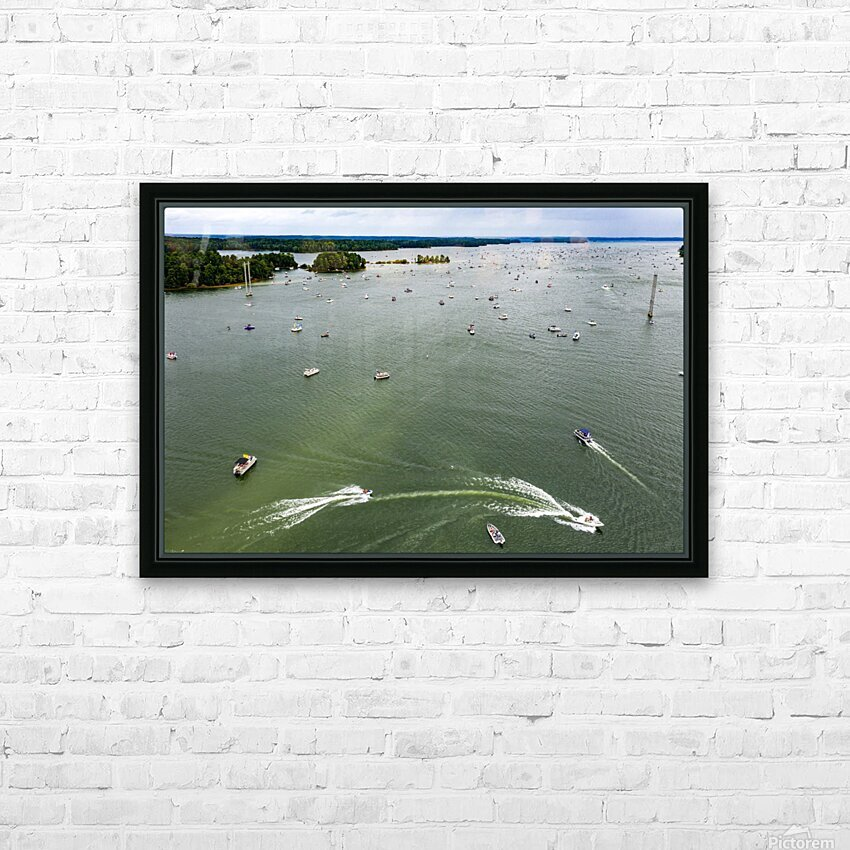 Trump Boat Parade Columbia County 8-29-20 3 HD Sublimation Metal print with Decorating Float Frame (BOX)