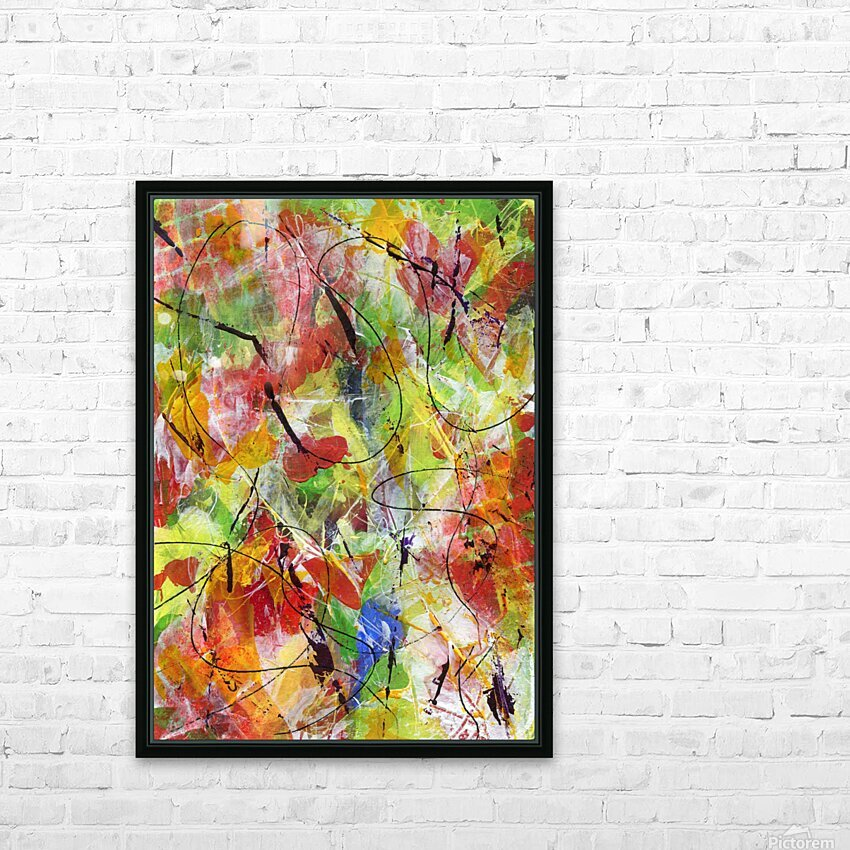 Time to Explore II HD Sublimation Metal print with Decorating Float Frame (BOX)