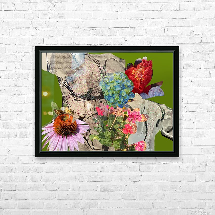 flowersandflex HD Sublimation Metal print with Decorating Float Frame (BOX)