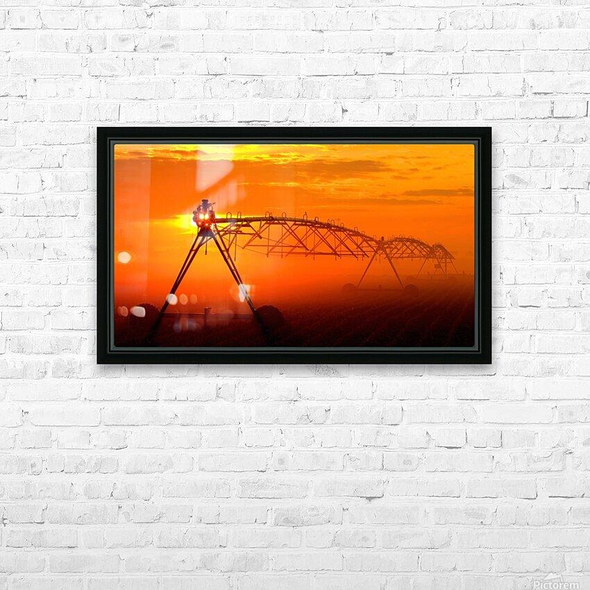 Sprinkler or Mist Monster HD Sublimation Metal print with Decorating Float Frame (BOX)